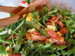 pissenlitsalade